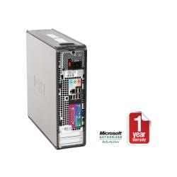 Dell OptiPlex 745 Core 2 Duo 1.86GHz 2048MB 160GB COMBO Windows 7 Professional SFF Computer (Refurbished)