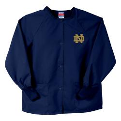 Gelscrubs Navy NCAA Notre Dame Fighting Irish Nurse Jacket - Thumbnail 0