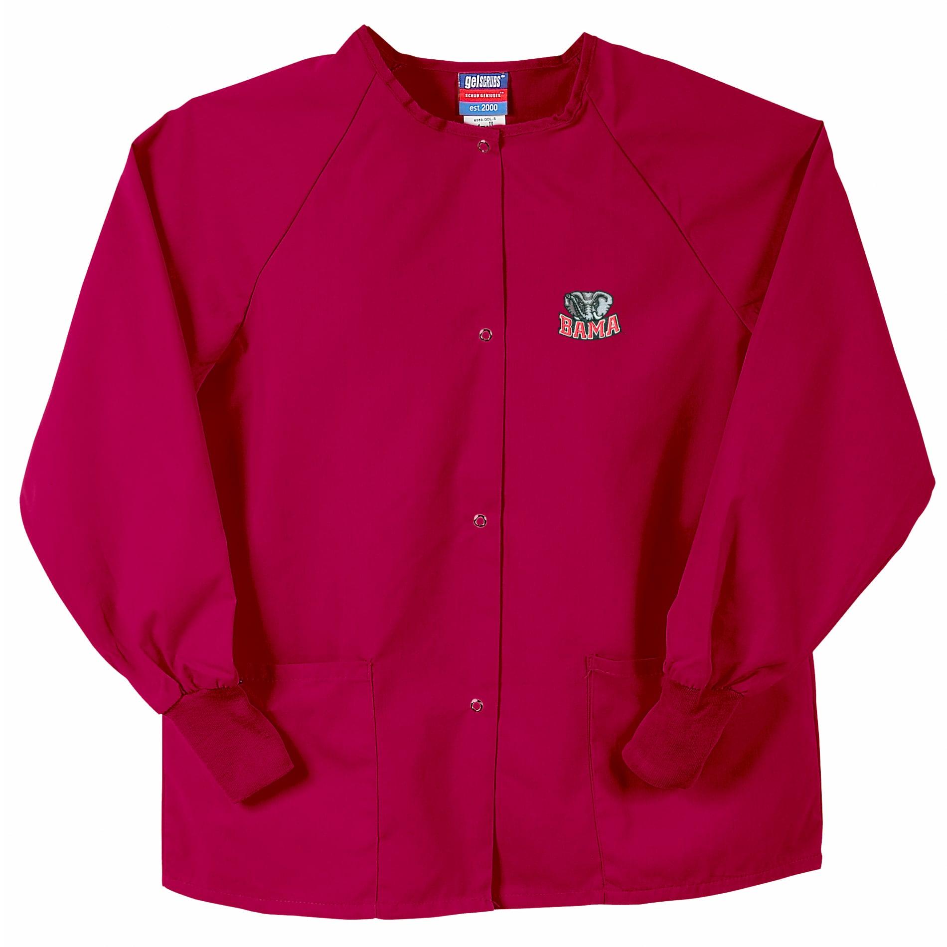 Gelscrubs Crimson Alabama Crimson Tide Officially LicesnsedNurse Jacket