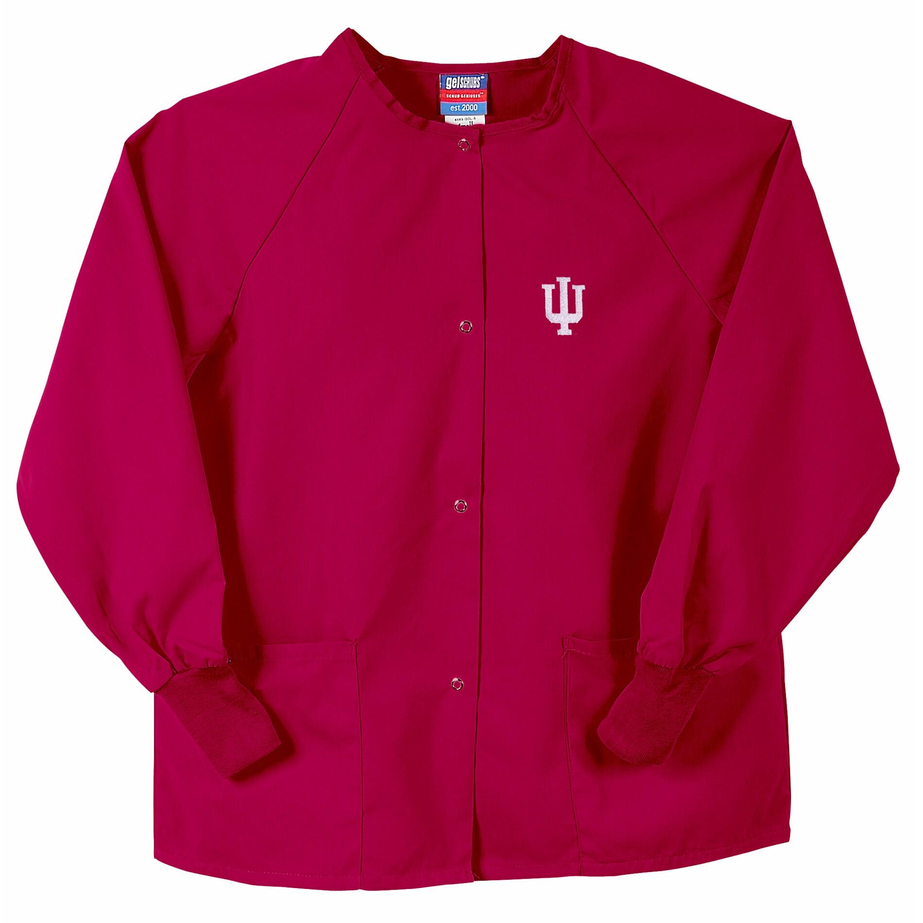 Gelscrubs Unisex Crimson Indiana Hoosiers Nurse Jacket