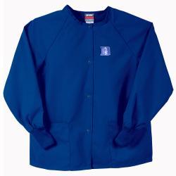 Gelscrubs Unisex Royal Blue NCAA Duke Blue Devils Nurse Jacket