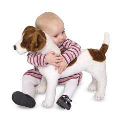 Melissa & Doug Plush Jack Russell Terrier Stuffed Animal
