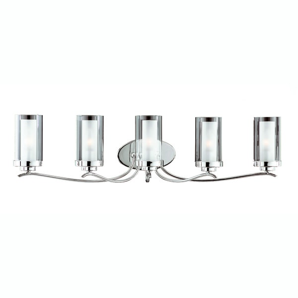 Triarch International Cylindique Chrome 5-light  Fixture