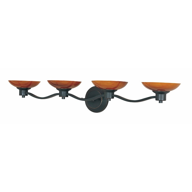 Triarch International Halogen VI Oil Rubbed Bronze 4-light Fixture