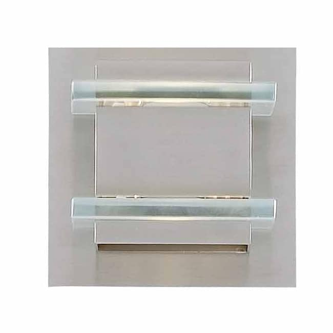 Triarch International Deco Halogen 1-light Brushed Steel Bath Light