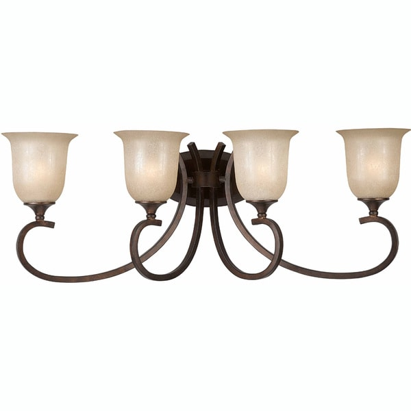 Triarch International La Costa English Bronze 4-light Fixture