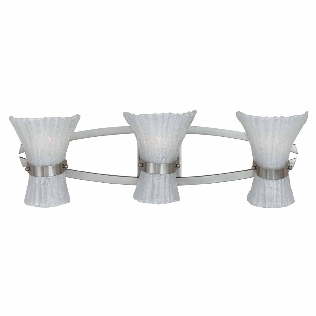 Triarch International Bali Nickel 3-light Fixture