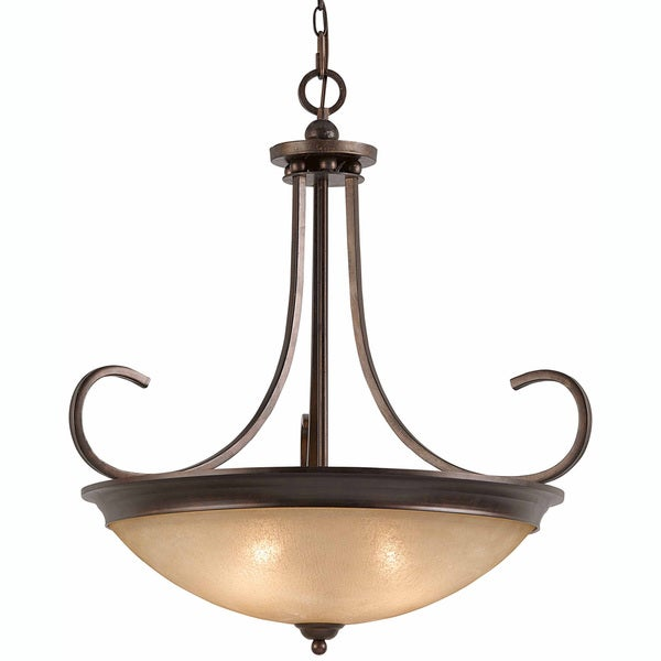 Triarch International 4-light English Bronze LaCosta Pendant Chandelier