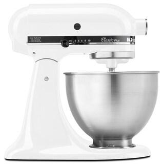 KitchenAid KSM75WH White 4.5-quart Classic Tilt-head Stand Mixer