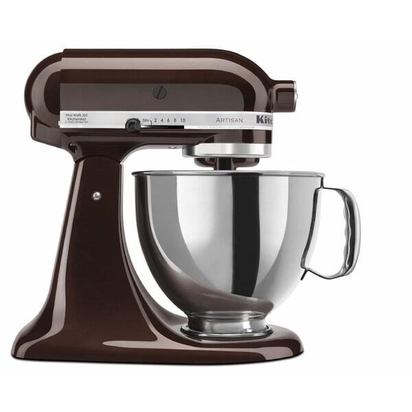 KitchenAid KSM150PSES Espresso 5-quart ArtisanTilt-Head Stand Mixer  with $30 Rebate