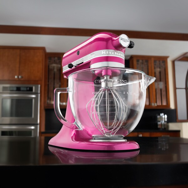 Kitchenaid Artisan Design Series 5 Qt Stand Mixer kitchenaid ksm155gbri raspberry ice 5-quart artisan tilt-head