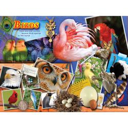 400-Piece Majestic Britannica Birds Puzzle
