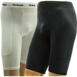 McDavid Men's Padded Sliding Shorts with Athletic Cup Pocket (5 options available)