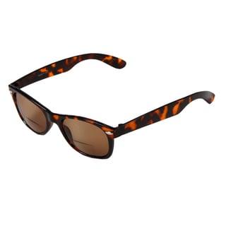 Hot Optix Men's Plastic Fashion Tinted Bi-focal Reading Glasses