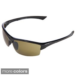 Hot Optix Golf High Contrast Semi Rimless Sport Sunglasses