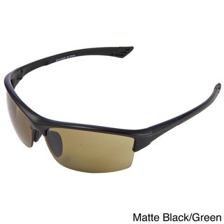 Hot Optix Golf High Contrast Semi Rimless Sport Sunglasses
