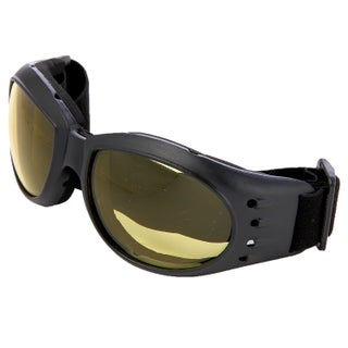 Hot Optix Polycarbonate Dual Lens Classic Motorcycle Goggles (More options available)