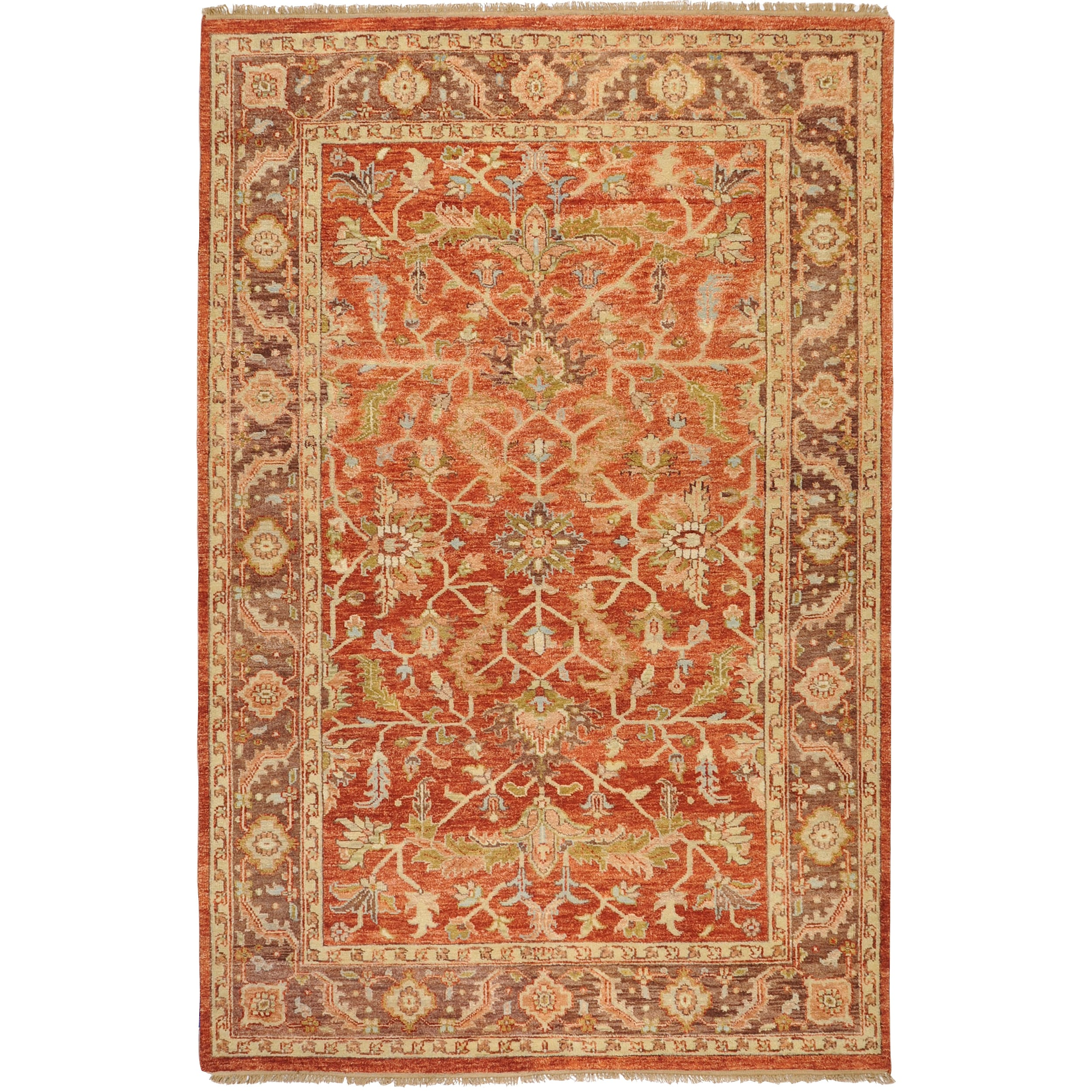 Hand Knotted Thea Wool Rug 9 X27 X