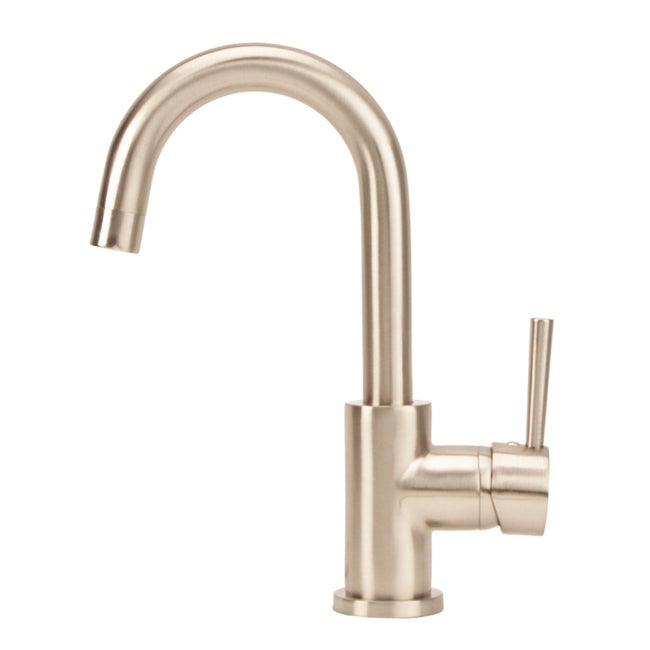 Fontaine Euro Brushed Nickel Bathroom Sink Faucet