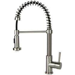 Residential Brushed Nickel Finish Brass Coil Spring Faucet|https://ak1.ostkcdn.com/images/products/6382868/Residential-Coil-Spring-Brushed-Nickel-Faucet-P13996884b.jpg?impolicy=medium