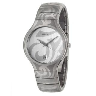 Rado Men's 'Rado True' Titanium/ Ceramic Quartz Watch