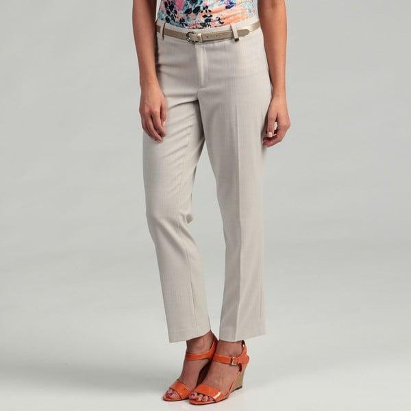 Calvin Klein Women's Double Banded Waist Pants