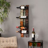 The Curated Nomad Roma Wall Mounted Wine Rack