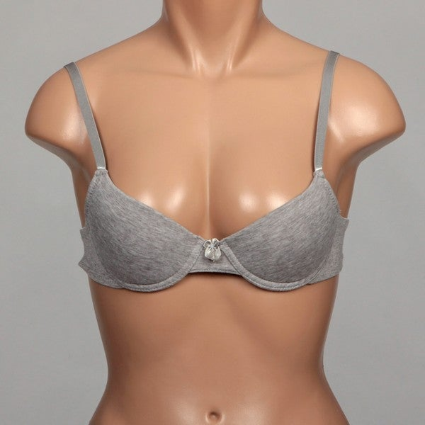 Rene Rofe Women's Cotton Comfort Bra (Set of 2)