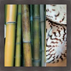 Jennifer Broussard Bamboo II Framed Print Art