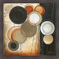 Kimberly Poloson 'Tangents II' Framed Print