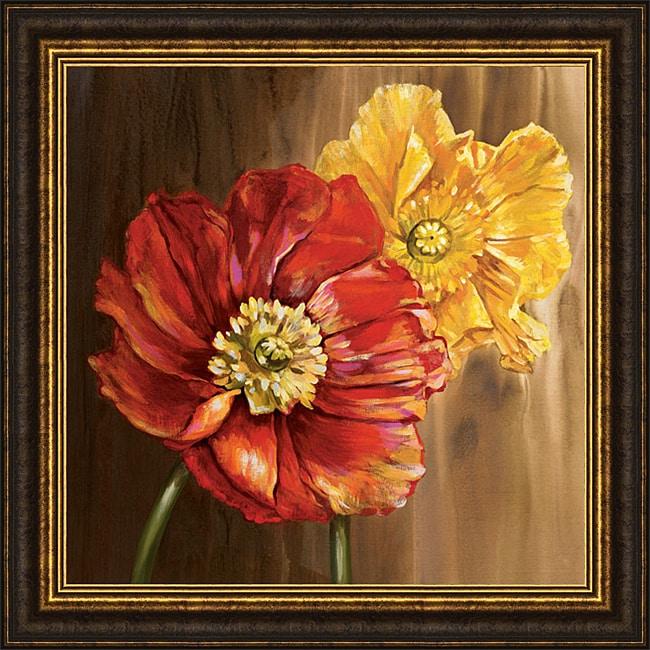Selina Werbelow 'Poppies' Framed Print