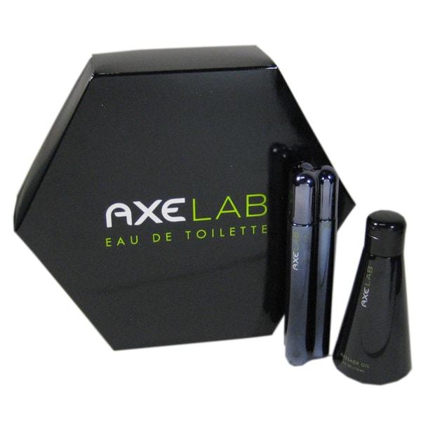 Axe Lab Men's Gift Set 1.7-ounce Eau De Toilette Cologne Spray