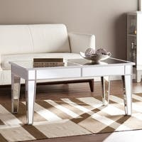 Silver Orchid Olivia Mirrored Cocktail Table