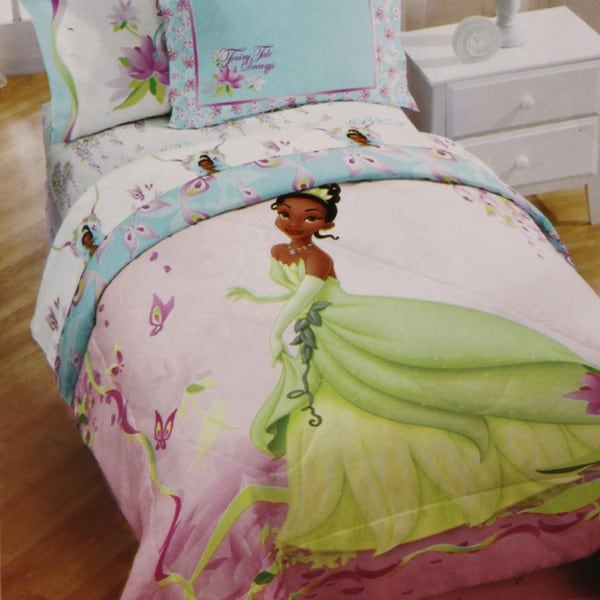 Princess And The Frog Bayou Dreams Twin Size 4 Piece Bed In A Bag With Sheet Set