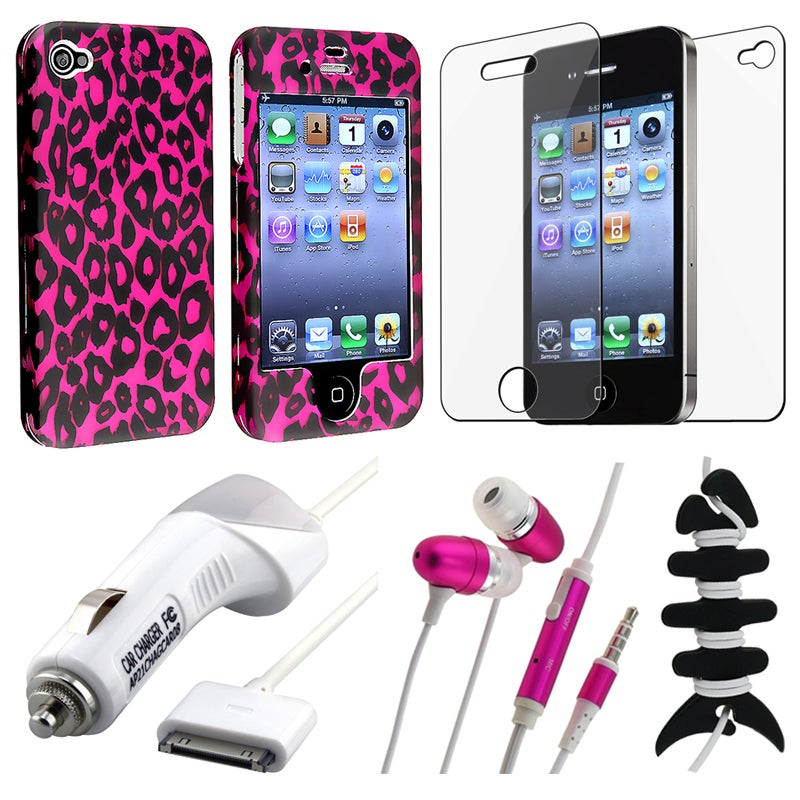 BasAcc Case/ LCD Protector/ Headset/ Wrap/ Charger for Apple iPhone 4S