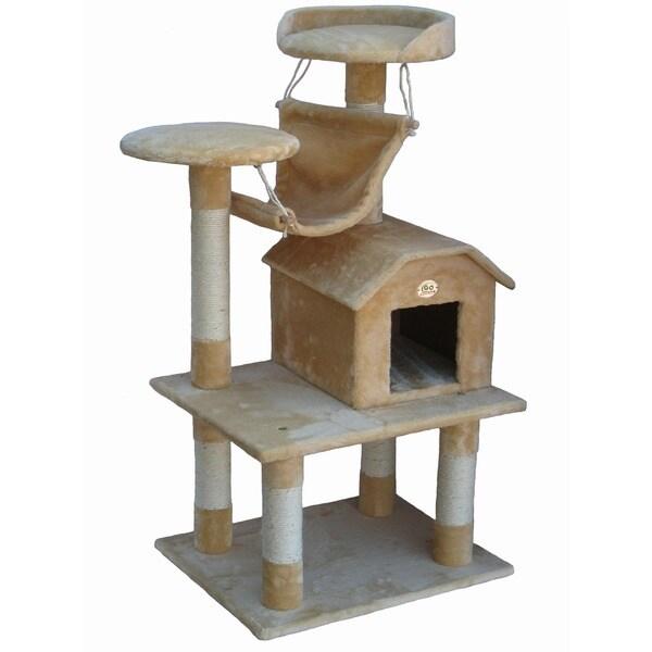 Go Pet Club Pressed Wood Cat Tree Furniture