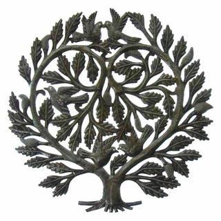 Handmade Recycled Steel Tree of Life 'Lover's Heart' Wall Art (Haiti)|https://ak1.ostkcdn.com/images/products/6385018/P13998632.jpg?impolicy=medium