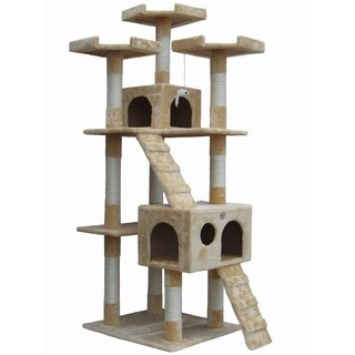 "Go Pet Club 72"" Cat Tree Furniture"
