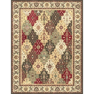 Dorchester Red/ Green Rug (12' x 15')