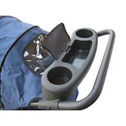 Go Pet Club Blue Pet Stroller - Thumbnail 1