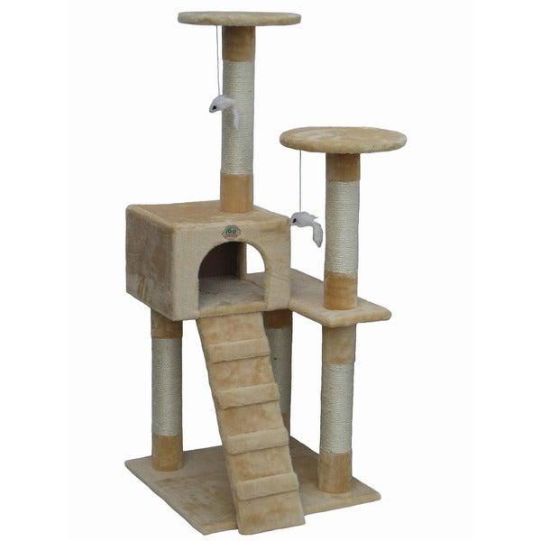 Beige Cat Tree Furniture
