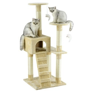 Beige Cat Tree Furniture