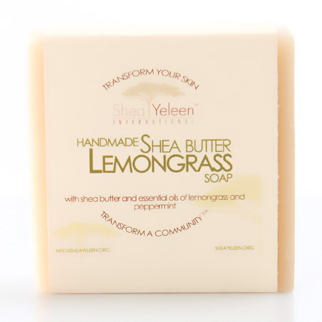 Pack of 2 Shea Yeleen Lemongrass Shea Butter Soap (Ghana)