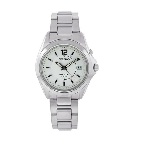 Seiko Men's Stainless Steel Kinetic SKA475 Watch