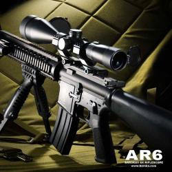 Barska AR6 Scope (2.5-15x56)