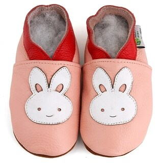 Bunny Rabbit Soft Sole Leather Baby Shoes (2 options available)