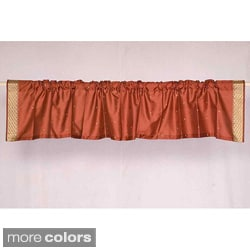 Sari Fabric Decorative Valances , Handmade in India Pack of 2