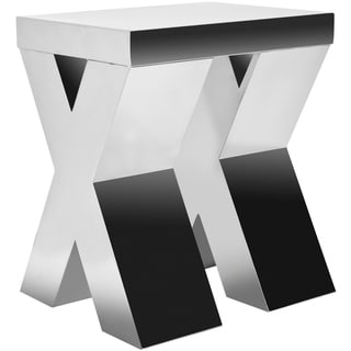 Safavieh Chic X-cross Stainless Steel End Table - 0
