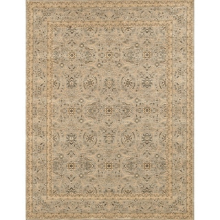 Dorchester Steel/ Steel Powerloomed Rug (9'8 x 12'8)