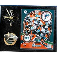 Miami Dolphins Collectible Photo Clock